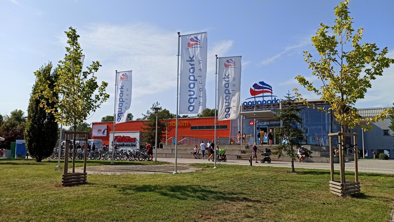Aquapark Wrocław Krzyki ul.Borowska