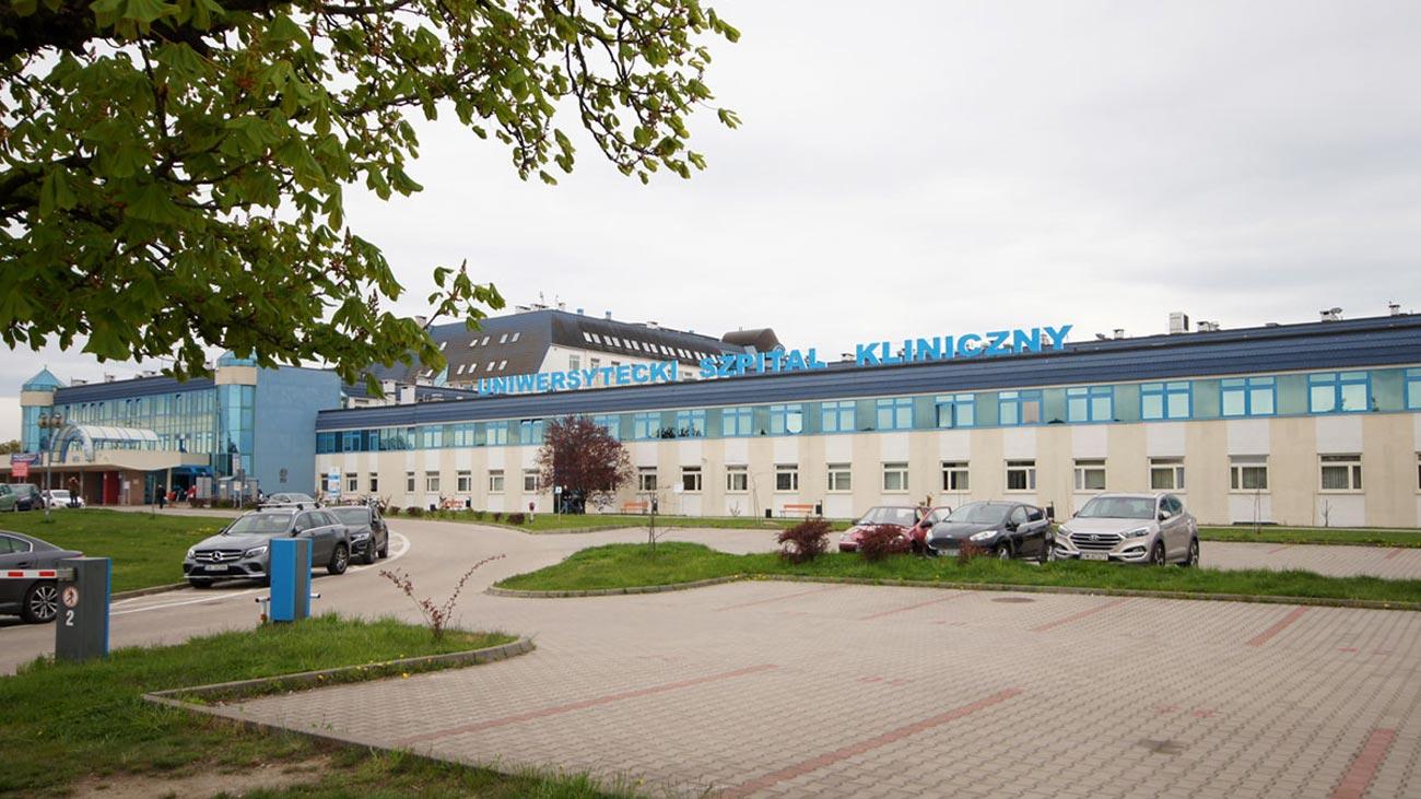 Uniwersytecki Szpital Kliniczny we Wrocławiu Krzyki Borowska 213