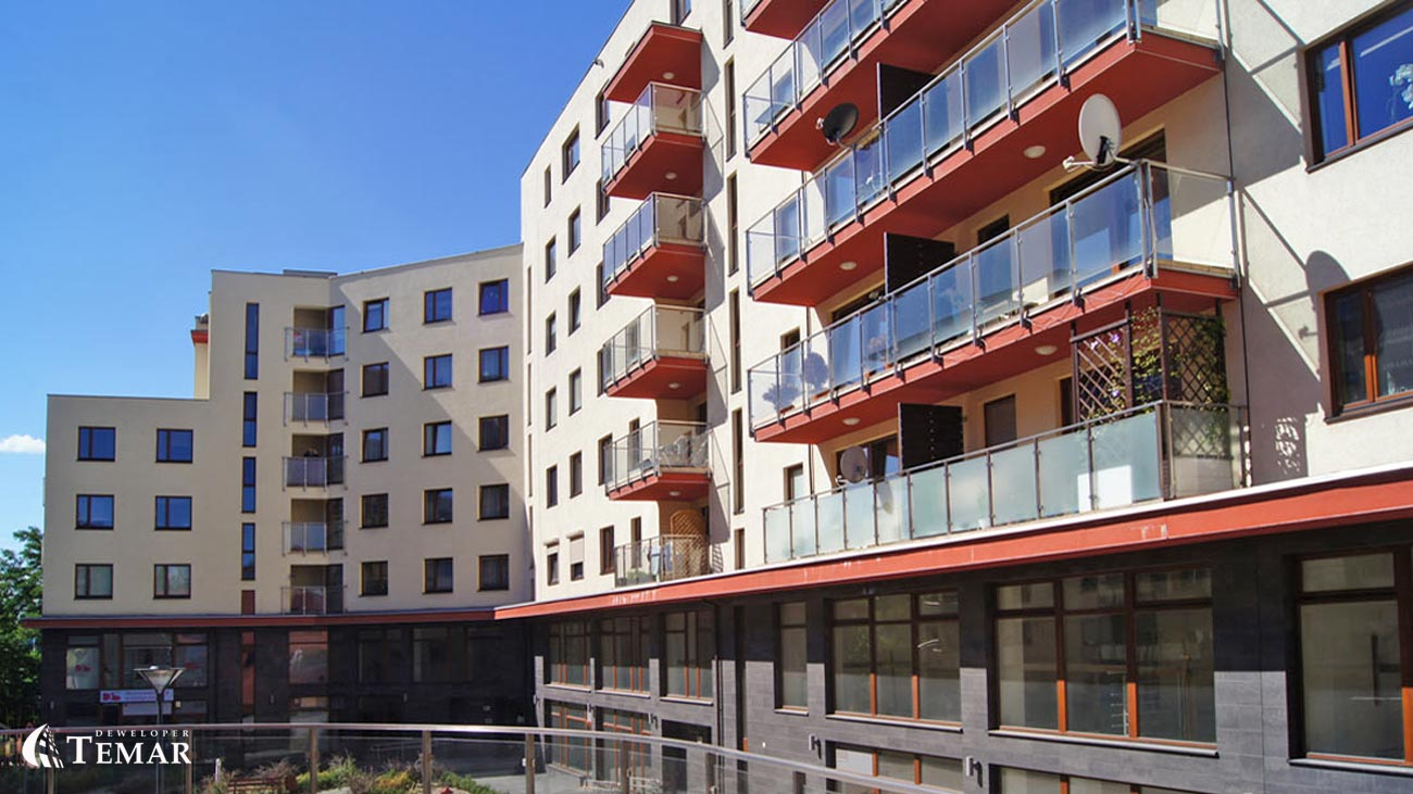 Apartamenty Panorama TEMAR Deweloper mieszkania i lokale usługowe