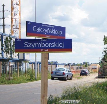 Nowa ulica Wisławy Szymborskiej we Wrocławiu