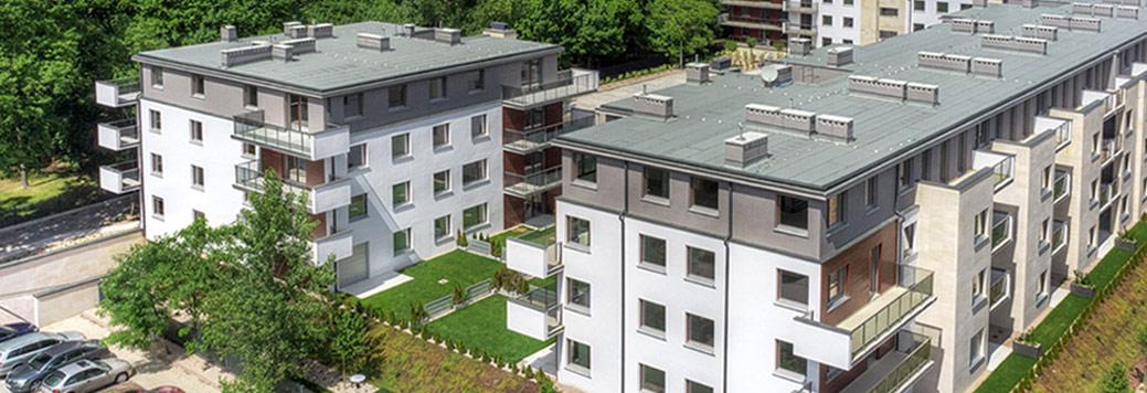 Rezydencja Dąbie Silver - nowe mieszkania Wrocław Biskupin